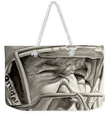 Intensity Peyton Manning Weekender Tote Bag by Tamir Barkan