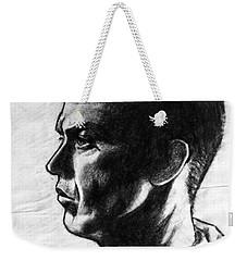 Michael Keaton Weekender Tote Bag by Salman Ravish