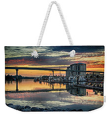 Intercoastal Waterway And The Wharf Weekender Tote Bag
