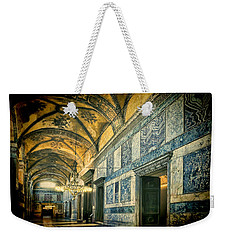 Interior Narthex Weekender Tote Bag