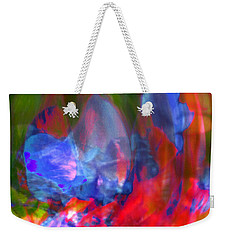 Weekender Tote Bag featuring the digital art Interior by Richard Thomas