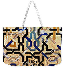 Interlocking Tiles In The Alhambra Weekender Tote Bag