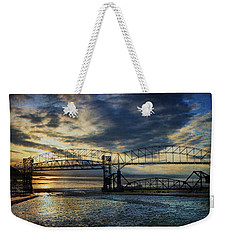 International Blues Weekender Tote Bag