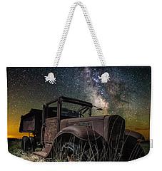 International Milky Way Weekender Tote Bag