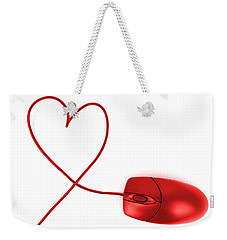 Internet Love Weekender Tote Bag