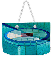 Intersection Of Lines And Shapes Weekender Tote Bag