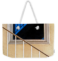 Intersection Of Real And Reflection  Weekender Tote Bag by Gary Slawsky