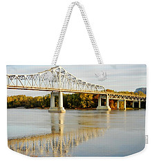 Interstate Bridge In Winona Weekender Tote Bag
