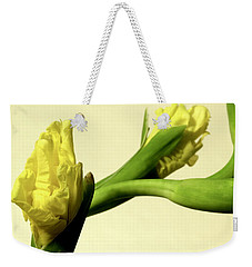 Intimate Unfurling Weekender Tote Bag