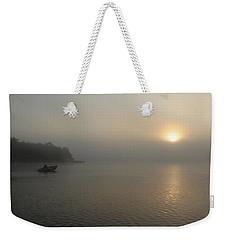 Into The Fog  Weekender Tote Bag by Debbie Oppermann