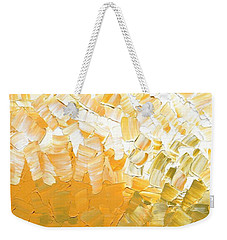 Weekender Tote Bag featuring the painting Into The Light by Linda Bailey