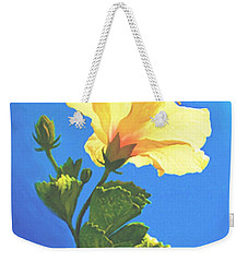 Weekender Tote Bag featuring the painting Into The Light by Sophia Schmierer