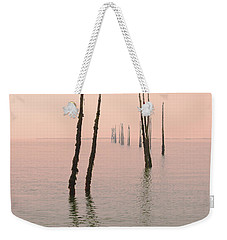 Into The Pink Sunset... Weekender Tote Bag