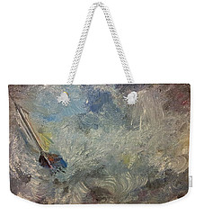 Into The Storm Weekender Tote Bag