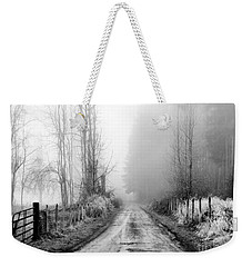 Into The Unknown Weekender Tote Bag