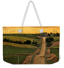 Into The Wind Weekender Tote Bag