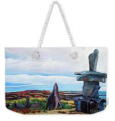 Inukshuk Weekender Tote Bag