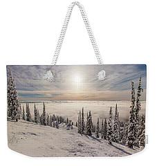 Inversion Sunset Weekender Tote Bag