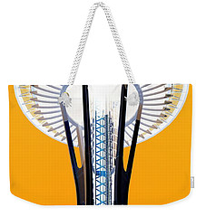 Inverted Needle Weekender Tote Bag by Chris Anderson