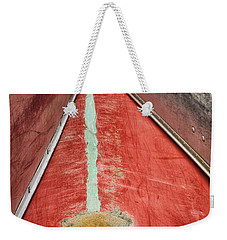 Inverted-stacked Canoes Weekender Tote Bag by Gary Slawsky