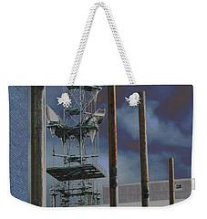 Invisible Industry Weekender Tote Bag