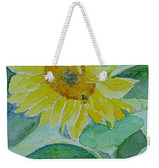 Inviting Sunflower Small Sunflower Art Weekender Tote Bag