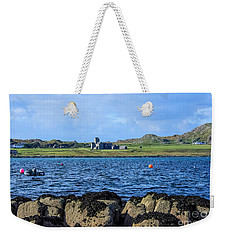 Iona Abbey Isle Of Iona Weekender Tote Bag