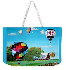 Iowa Balloons Weekender Tote Bag