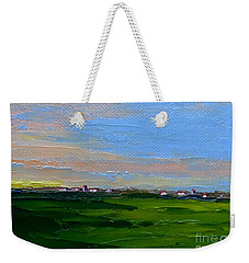 Iowa Sunrise Weekender Tote Bag