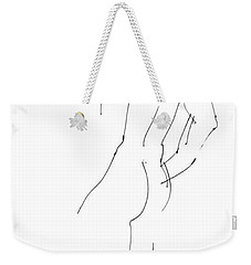 iPhone-Case-Nude-Male2 Weekender Tote Bag