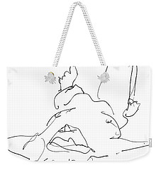 iPhone-Case-Nude-Male4 Weekender Tote Bag