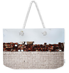 #ipromiseyouwalls Weekender Tote Bag by Becky Furgason