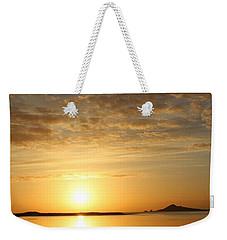 Irelands Eye At Dawn Weekender Tote Bag