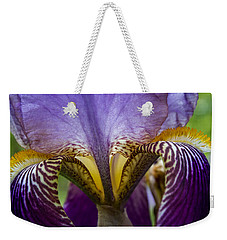 Iris Abstract Weekender Tote Bag
