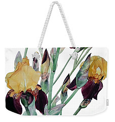 Iris Beethoven Romance In Fa Major Weekender Tote Bag by Greta Corens