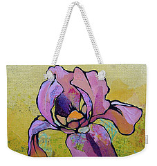 Iris I Weekender Tote Bag by Shadia Derbyshire