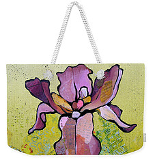 Iris II Weekender Tote Bag by Shadia Derbyshire