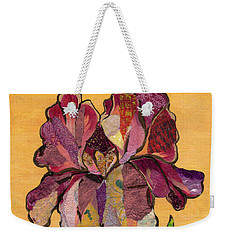 Iris Iv - Series II Weekender Tote Bag by Shadia Derbyshire