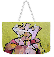 Iris Iv Weekender Tote Bag by Shadia Derbyshire