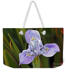 Weekender Tote Bag featuring the photograph Iris by Kate Brown