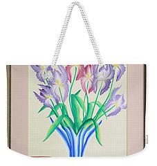 Irises Weekender Tote Bag