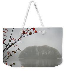 Irish Crannog In The Mist Weekender Tote Bag