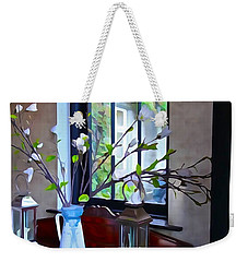 Weekender Tote Bag featuring the photograph Irish Elegance by Charlie and Norma Brock