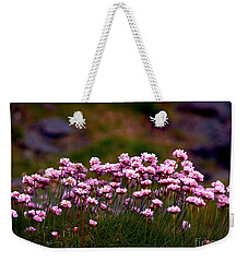 Irish Sea Pinks Weekender Tote Bag