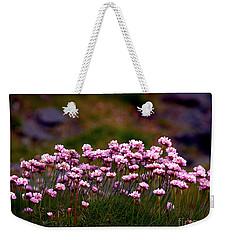 Irish Sea Pinks Weekender Tote Bag