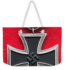 Iron Cross Medal Weekender Tote Bag by Lee Avison