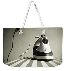 Iron Weekender Tote Bag by Les Cunliffe
