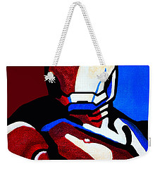 Iron Man 2 Weekender Tote Bag by Barbara McMahon