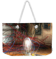 Is This Right Mr. Edison? Weekender Tote Bag