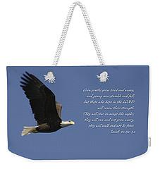 Isaiah 40 Weekender Tote Bag